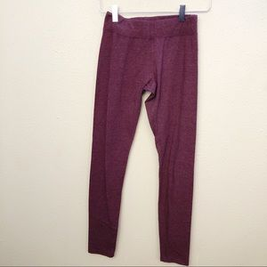 Vanity Burgundy Leggings Sz S
